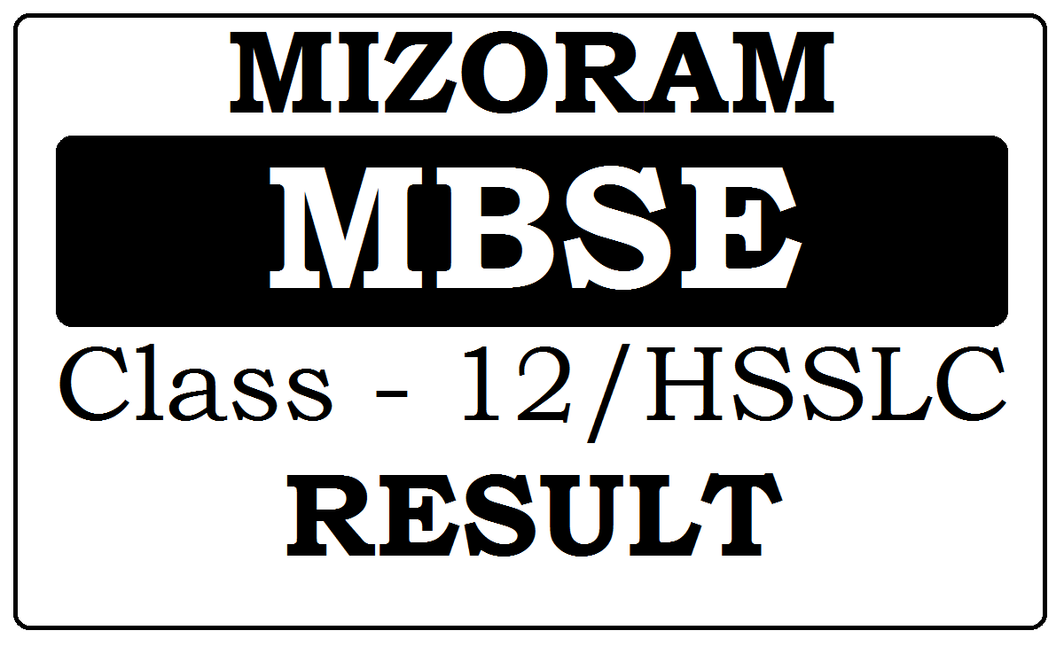 Mizoram Board 12th Result 2020