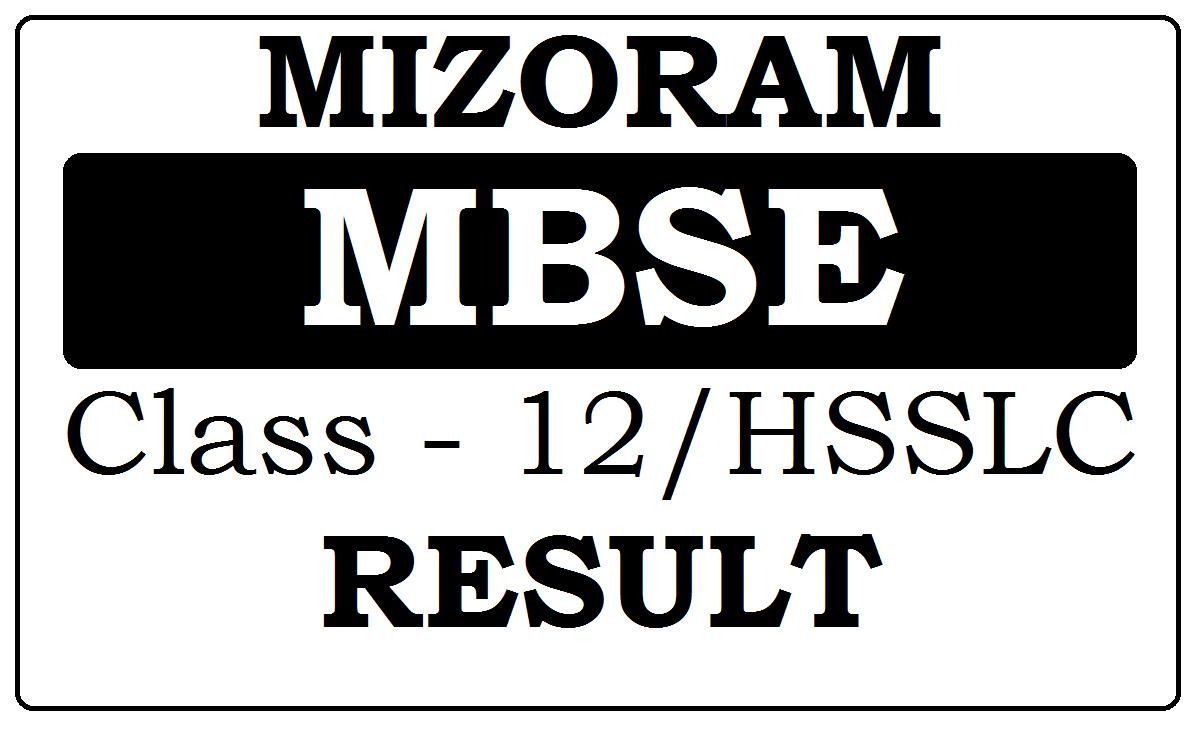 Mizoram Board 12th Result 2021