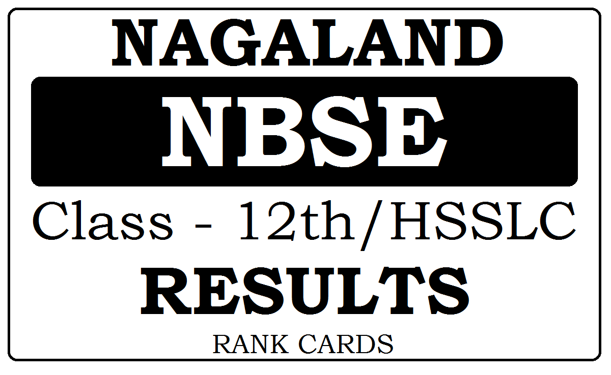NBSE HSSLC Results 2020