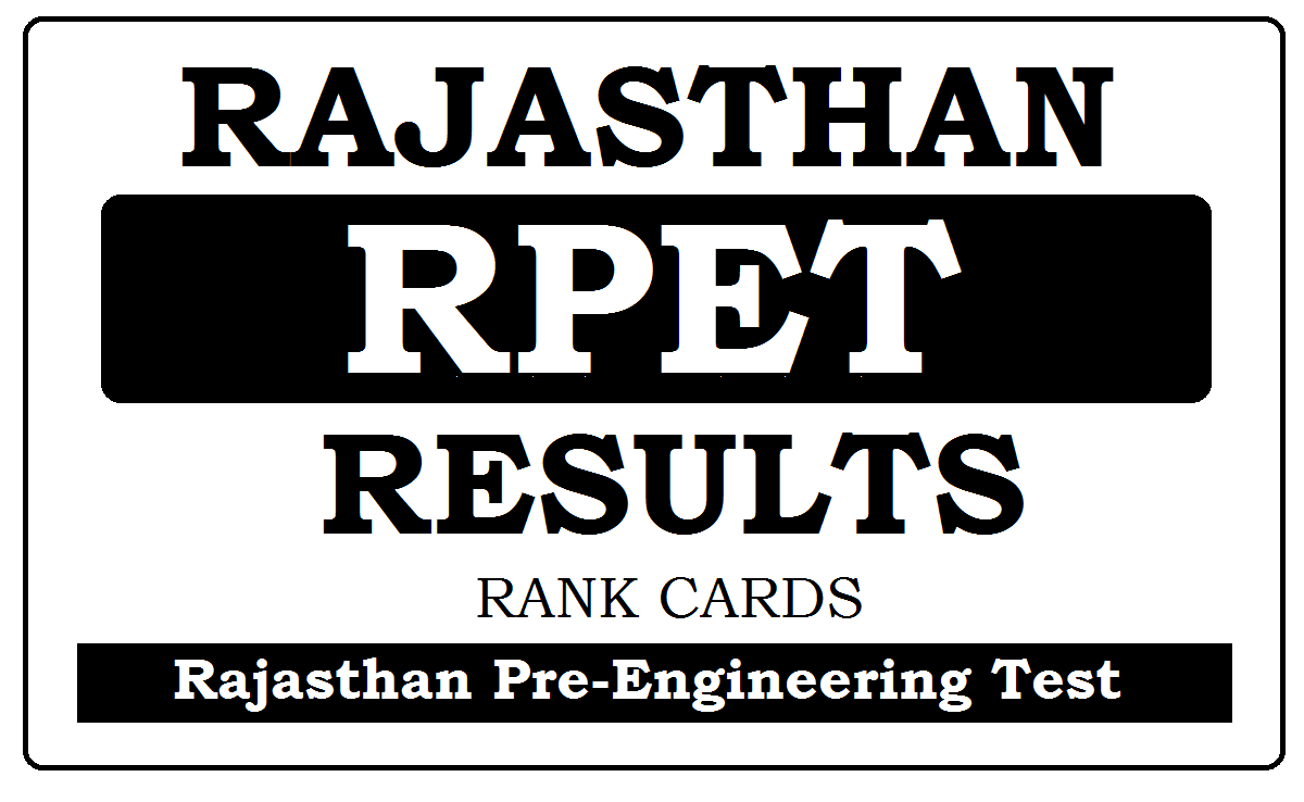 RPET Results 2020 with Cut-Off Marks