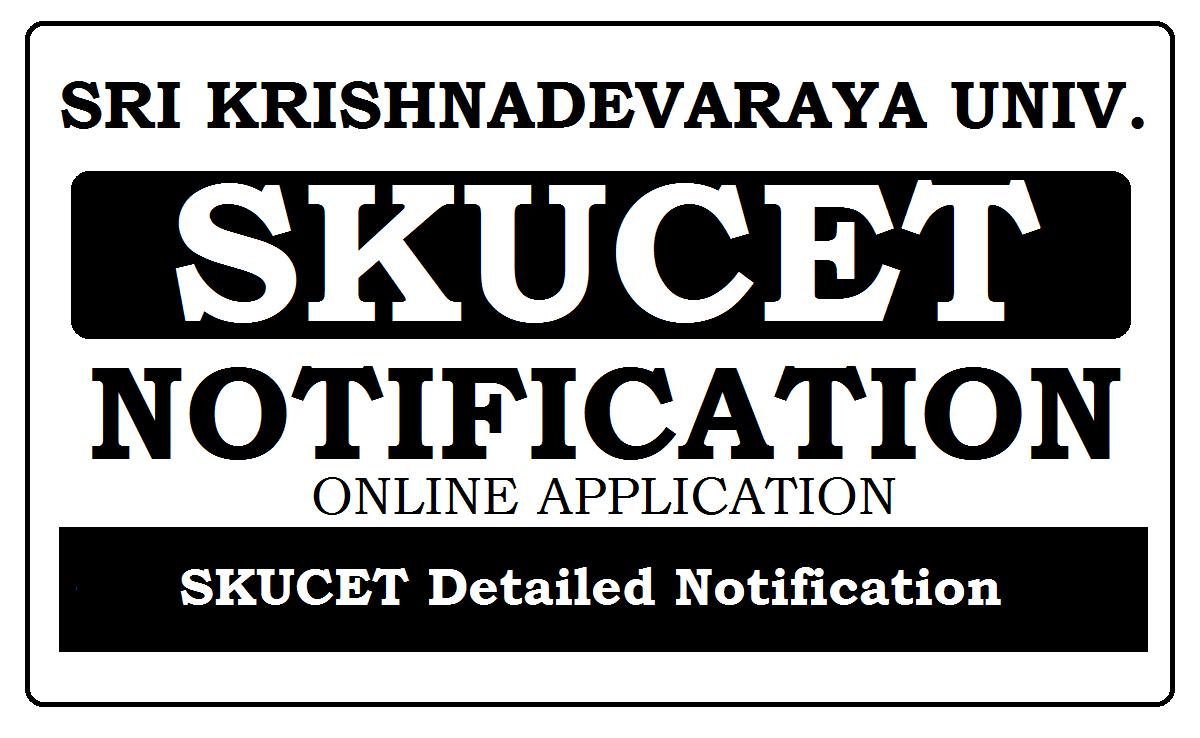 SKUCET Online Application 2021