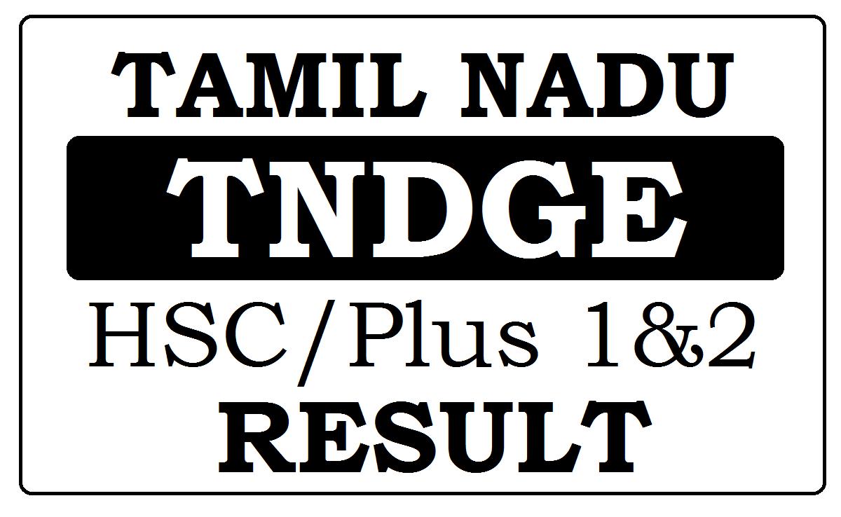 TN +2 Results 2021