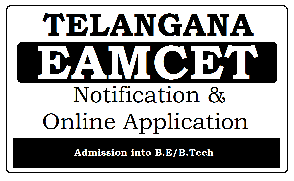TS EAMCET Notification 2020