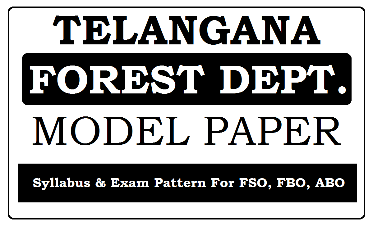 TS Forest Model Papers 2020