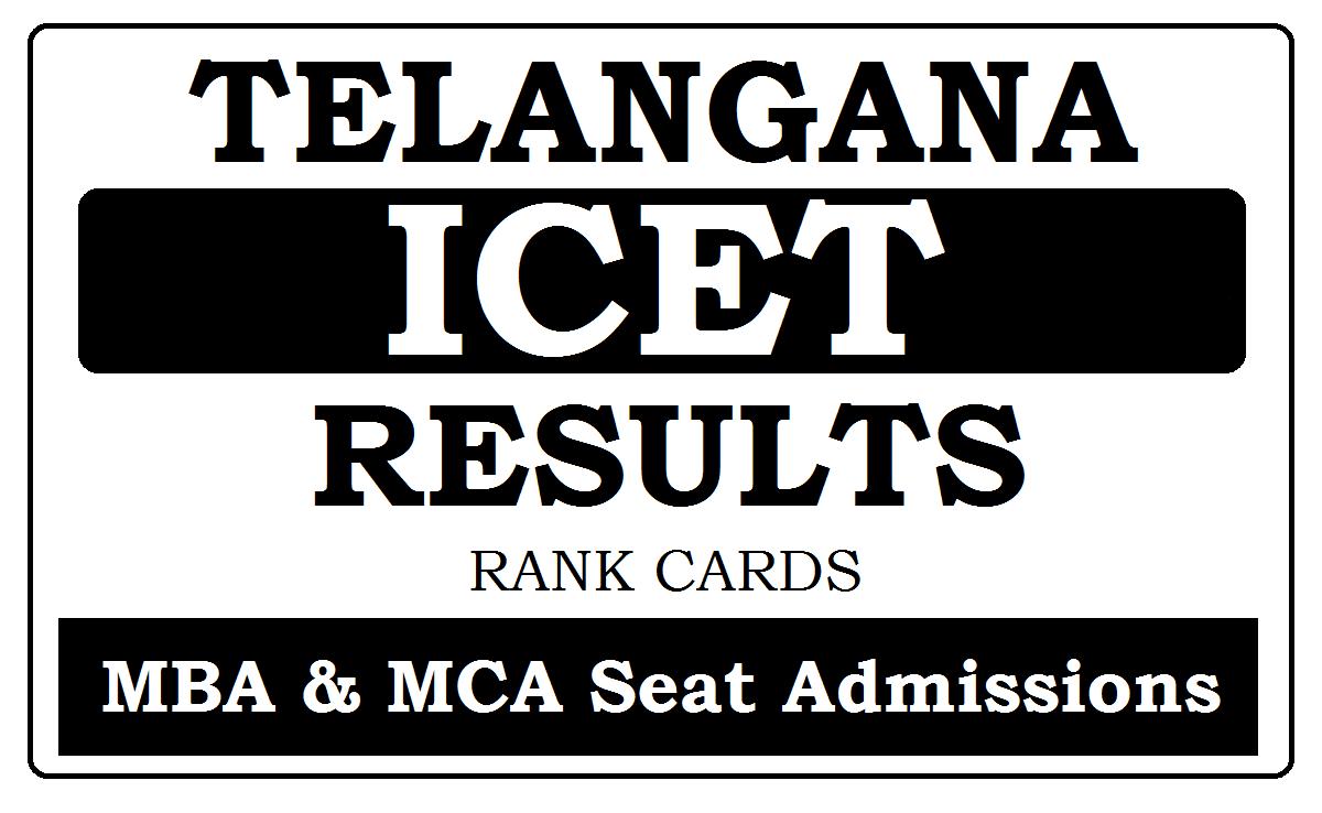 Manabadi TS ICET Results 2021